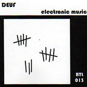 """画像1: Deuf """"Electronic Music"""" [CD-R]"""