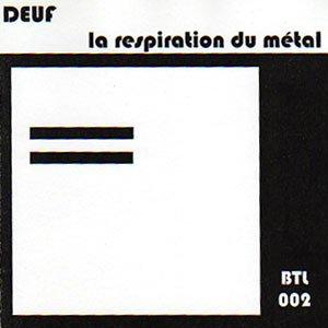 """画像1: Deuf """"La Respiration du Metal"""" [CD-R]"""