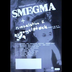 画像1: Smegma [UK Tour Poster]