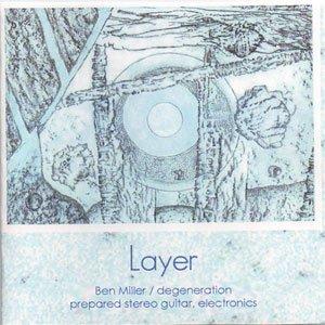 """画像1: Ben Miller/degeneration """"Layer"""" [CD-R]"""