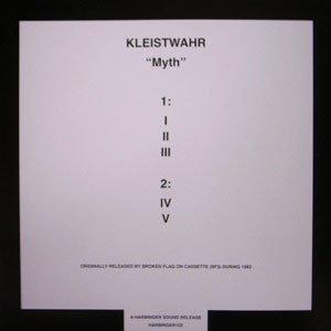 "画像2: Kleistwahr ""Myth"" [LP]"