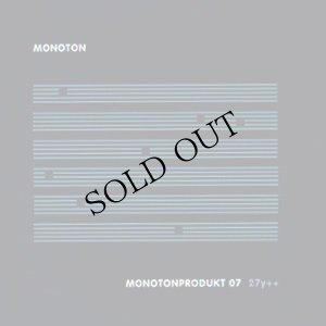 """画像1: Monoton """"Monotonprodukt 07 27y ++"""" [CD]"""