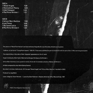 """画像2: Jaap Blonk """"Mixed from Heaven"""" [LP]"""