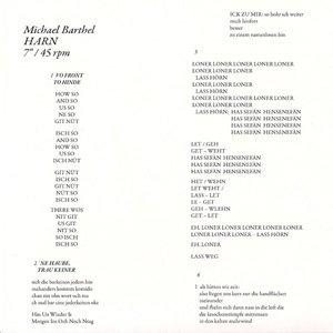 """画像1: Michael Barthel """"Harn"""" [7""""]"""