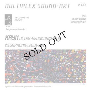 "画像1: Roland Kayn ""Multiplex Sound-Art 003"" [2CD]"