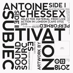 "画像1: Antoine Chessex ""Subjectivation"" [LP]"