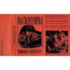 """画像1: Macronympha """"Insemination Bath - Radio For The People"""" [Cassette]"""
