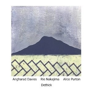 """画像1: Angharad Davies, Rie Nakajima, Alice Purton """"Dethick"""" [CD]"""