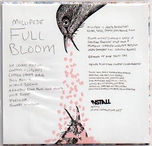 """画像3: Millipede """"Full Bloom"""" [CD-R]"""