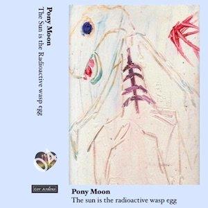 """画像1: Pony Moon """"The Sun is the Radioactive wasp egg [Cassette]"""