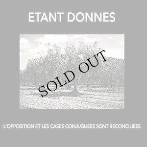 """画像1: Etant Donnes """"L'Opposition Et Les Cases Conjuguees Sont Reconciliees"""" [CD]"""