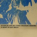 "Le Sun Ra And His Cosmo Discipline Arkestra ""A Night In East Berlin"" [Cassette]"