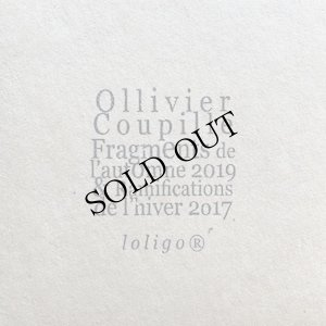 """画像1: Ollivier Coupille """"Fragments and Ramifications"""" [CD]"""