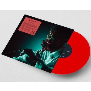 """画像2: group A """"anOther"""" [Red Vinyl]"""
