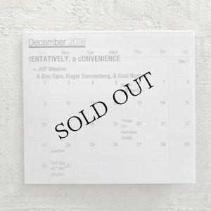 "画像1: tENTATIVELY, a cONVENIENCE + Jeff Weston + Ben Opie + Roger Dannenberg + Coal Hornet ""December 2018"" [CD]"