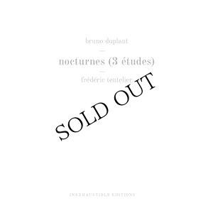 """画像2: Bruno Duplant """"Nocturnes (3 Etudes)"""" [CD]"""
