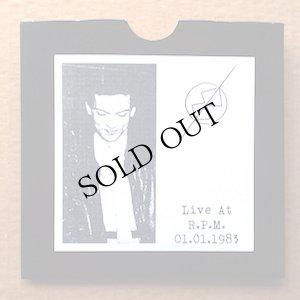 """画像1: M. B. """"Live at R.P.M. 01.01.1983"""" [CD-R]"""